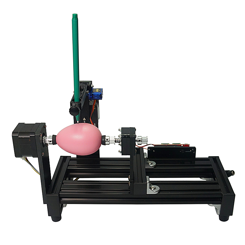 Disassembled LY big size eggdraw eggbot for education children Egg-drawing robot draw machine on egg and ball drawing machine