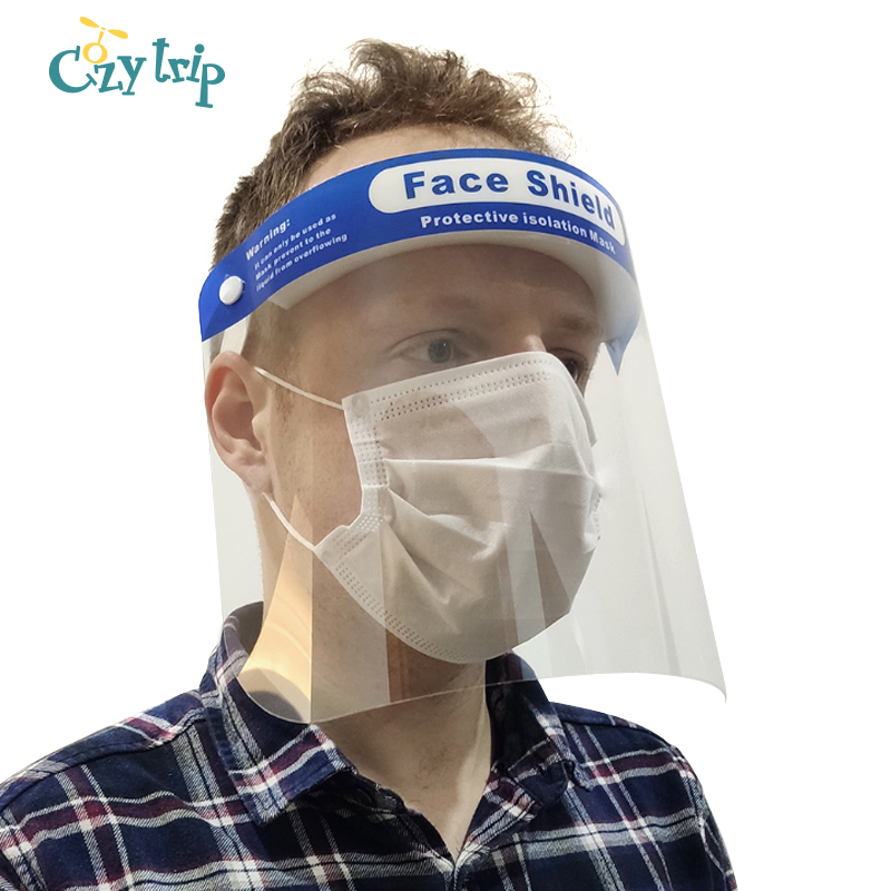 Anti-Fog High-Definition Face Mouth Isolation Mask Anti Droplet Protective Full Face Shield Anti Virus Face Mouth Mask