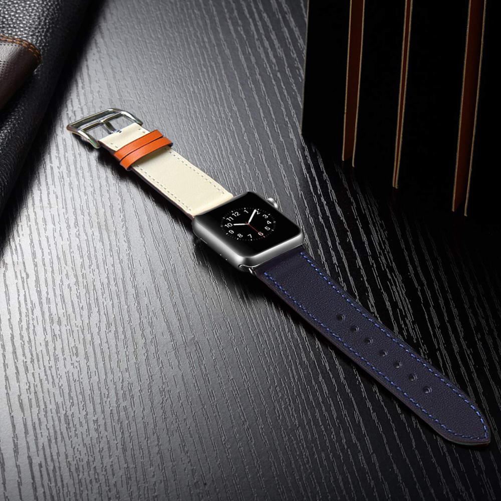 Eastar High Quality Leather Loop For Apple Watch Band Series4 3/2/1 Sport Bracelet 42 Mm 38 Mm Strap For Iwatch 5 Band 40mm 44mm