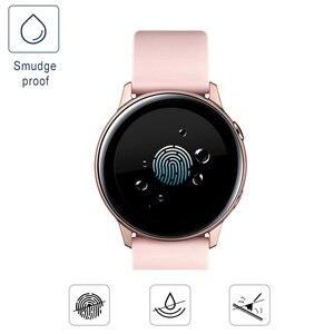 Image 4 - 3 stück Weiche Hydrogel Film für Samsung Galaxy Uhr Aktive 1 2 40m 44mm Schutz Film Uhr Screen protector auf Aktive 2 1