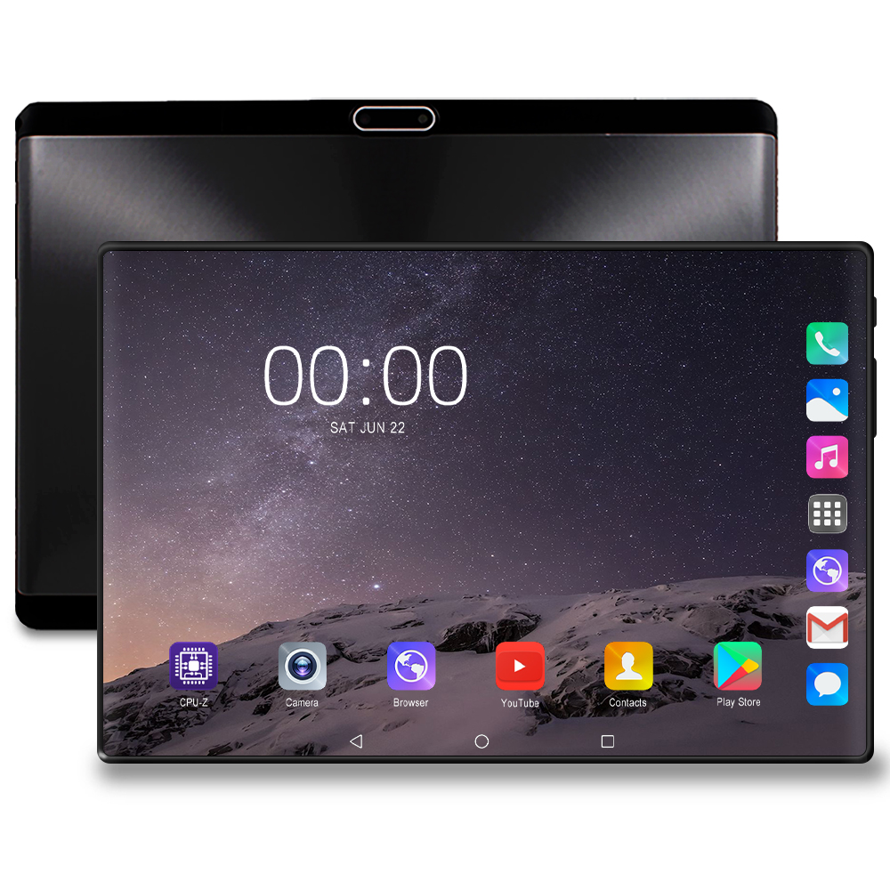 Fast Shipping 10 Inch Tablet PC Quad Core 2GB RAM 32GB ROM Dual SIM 4G Lte Cell Phone Tablets Rugged 2.5D 1280x800 Screen 10.1