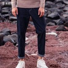 Бренд enjeolon мужские джинсы осень 2020 новые простые повседневные