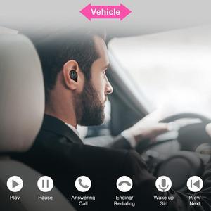 Image 5 - GOOJIDOQ 5,0 auriculares, inalámbricos por carga USB Bluetooth con, Mini auriculares deportivos para coche con micrófono para iPhone y xiaomi