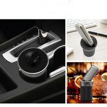 JINXINGCHENG Aluminum Alloy Ashtray Design Charge for iqos 3.0 Charger for iqos Muli 3.0 3 Car Charging Accessories