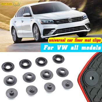 4pcs Car Floor Mat Clips For VW All Models Carpet Fixing Clamps Holders Fasteners Retainer Retention Anti Skid Buckles image