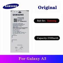 5 шт/лот 100% Оригинал samsung a3 батарея eb ba310abe 2300 мАч