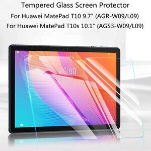 0.3mm 9h vidro temperado para huawei matepad t 10 9.7 t 10s 10.1 t10 t10s protetor de tela agr ags3 lo9 w09 tablet película protetora