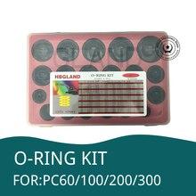 626 Pcs O Ring Kit Olie Seal Pakkingen Voor Komatsu PC60/100/200/300 Graafmachine Reparatie Tools Rubber Ring