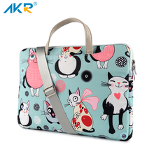 """Netbook shoulder bag Laptop case for MacBook Air 2019 Pro Retina 11""""13.3"""" for Xiaomi 12.5"""" 15.6"""" Cats Pattern Style Cute 2020"""
