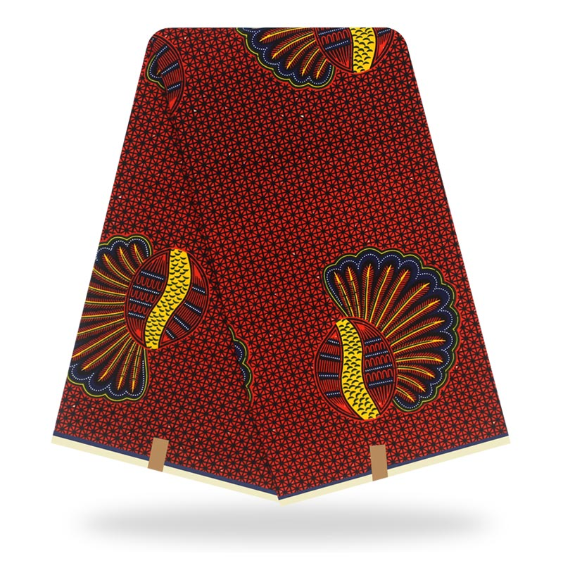 Dutch Wax African Wax Veritable Ankara Fabric 2019 Latest African Fabric Print 100% Cotton Pagne Africain Original Wax Veritable