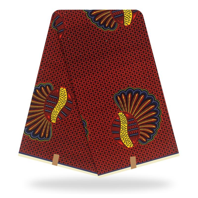 Wax Wax African Wax Veritable Ankara Fabric 2019 Latest African Fabric Print 100% Cotton Pagne Africain Original Wax Veritable