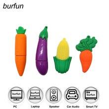Забавный Flash Drive 128GB +64GB 32GB 16GB Pendrive High Качество Memory Stick Cute Disk Hot Fruits Cartoon Style Pen Drive Drives