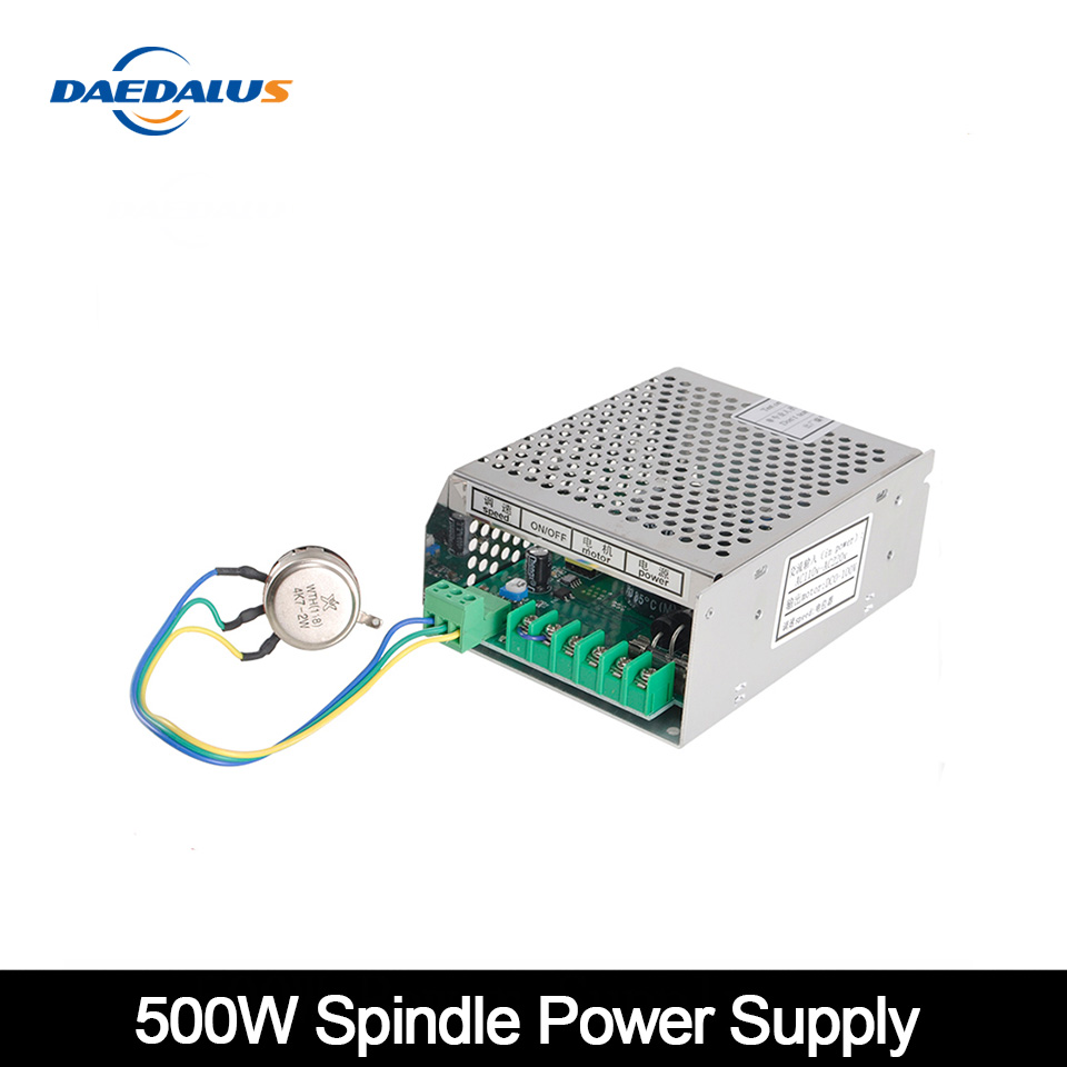 500W <font><b>110V</b></font>/220V Adjustable Power Supply <font><b>110V</b></font>/220V Mach3 Power Supply With Speed <font><b>Control</b></font> For CNC Spindle <font><b>Motor</b></font> Engraver Machine image