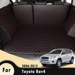 Wkładka pod ładunek samochodowy bagażnika dywaniki dywan dywaniki maty akcesoria do wnętrz samochodowych dla Toyota Rav4 2006 2007 2008 2009 2010 2011 2012| |   -