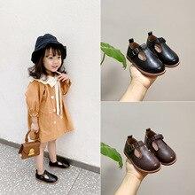 Zapatos de cuero genuino para niños, bailarinas vintage, zapatos escolares para niños, zapatos planos formales informales para fiestas, zapatillas Retro