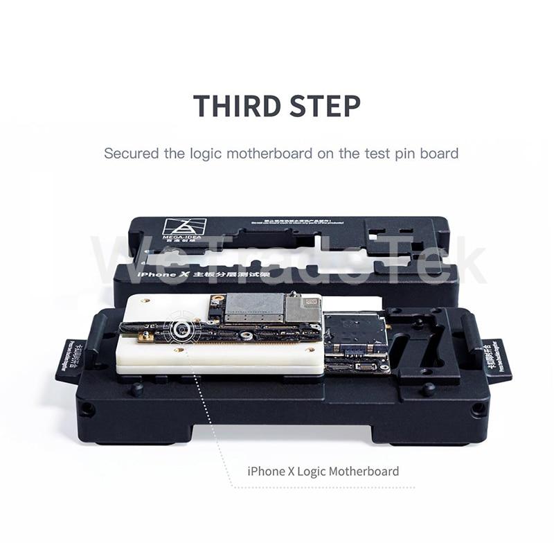 11ProMax Repair Motherboard Holder Mainboard Fixture Jig Fast Logic X ISocket Mega Phone For Qianli Test Board Idea