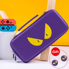 Nintend Switch Storage Bag Purple Devil Travel Case NS Hard Shell Cover Waterproof Box For Nintendo Switch Lite Game Accessories