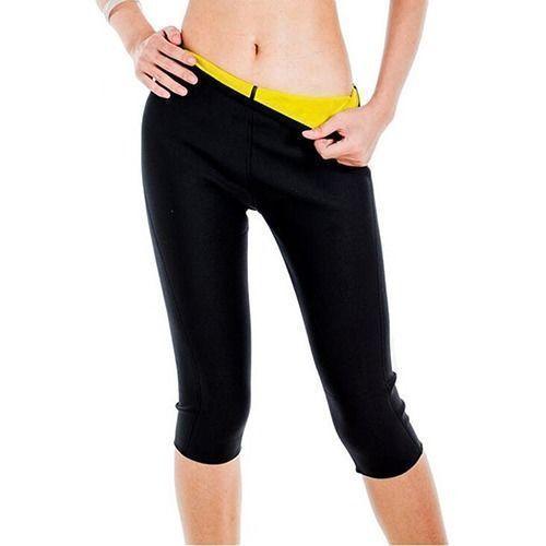 Женские Эластичные утягивающие брюки, неопреновые утягивающие штаны для фитнеса, обтягивающие спортивные шорты, обтягивающие тренировочн...