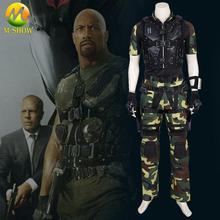 Костюм для косплея из фильма G I Joe Retaliation Roadblock, костюм для взрослых мужчин, однотонный костюм для косплея, камуфляжный костюм, тактическая форма, на заказ