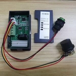 Mini Motor PWM Controller DC 6V-30V 8A Digital Display LED 6V 12 V 24V 12 Volt V Motoren CCM5D Controller Variable Geschwindigkeit Regler
