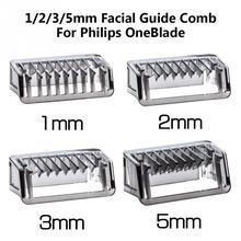 На возраст 1, 2, 3, 5 мм лица направляющий гребень кожи тела салон триммер для стрижки Philips OneBlade костюм для QP2520/2530/2630/6520 Тип