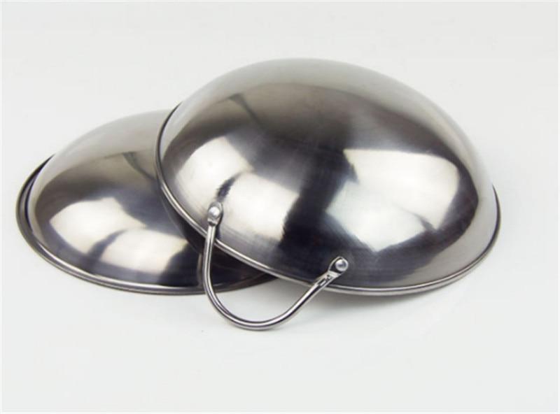 Круглая Плоская подошва из нержавеющей стали небольшой горячий горшок толстый сухой горшок Спиртовка буфет спирт мини натирание плита с чашами суп сковорода