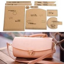 1 Набор «сделай сам» из крафт бумаги Бумага Шаблон Новая сумка