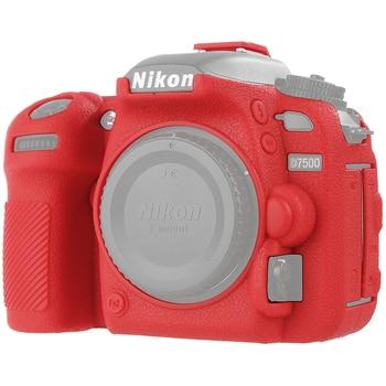 цена на for Nikon D7500 Camera Cover Protective Body Case Skin Silicone High Grade Litchi Texture Cover for Nikon D7500 Camera Cover