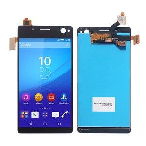Image 4 - Ban Đầu Cho Sony Xperia C4 Màn Hình Hiển Thị LCD Bộ Số Hóa Cho Sony Xperia C4 E5303 E5306 E5333 Màn Hình Hiển Thị Màn Hình Điện Thoại các Bộ Phận