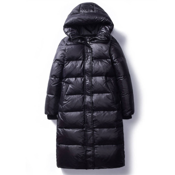 2020 Korean Winter Down Cotton Jackets Women s Long Parkas Slim Hooded Warm Winter Coats