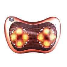 Relaxation Massage Pillow Vibrator Electric Shoulder Back Heating Kneading Infrared therapy for shiatsu Neck Massage electric infrared heating kneading neck shoulder back body spa massage pillow car chair shiatsu massager masaj device