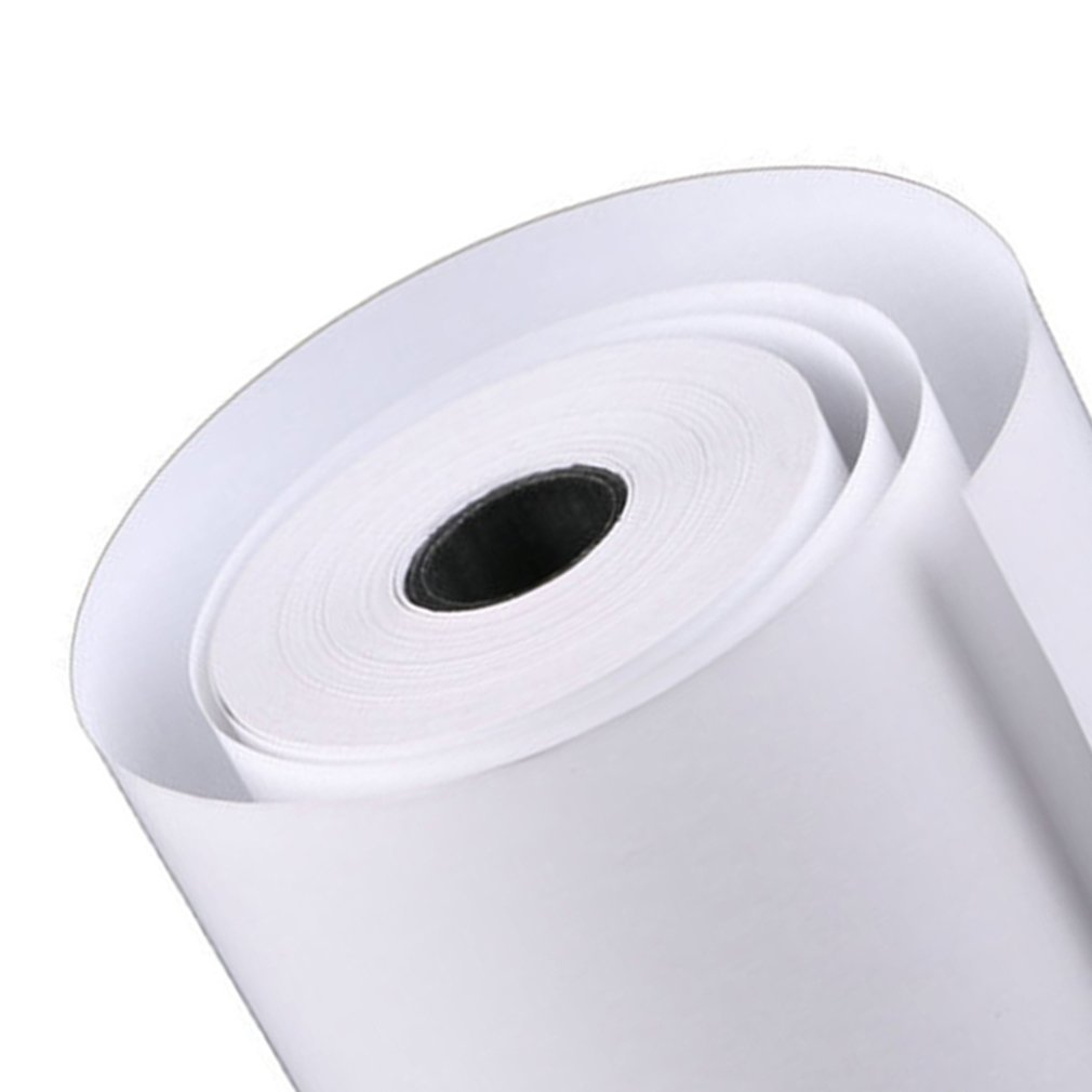 Printed Paper Thermosensitive Invoice Hotel Restaurant Convenience Store Printed Paper Thermosensitive Label Paper Accessory(China)
