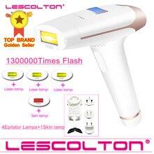 New Original Lescolton more lamps IPL Laser Hair Removal Permanent Hair Removal IPL laser Epilator Armpit Hair Removal