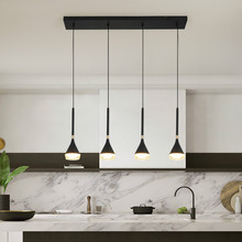 Modern LED Pendant Lights for Living Room Dining Room Nordic Black Color Kitchen Hanging Lamp Cafe Bar Home Deco Light Fixtures new nordic led pendant lights lamp crystal metal pendant lamp modern lighting fixtures for dining room living room bar art deco