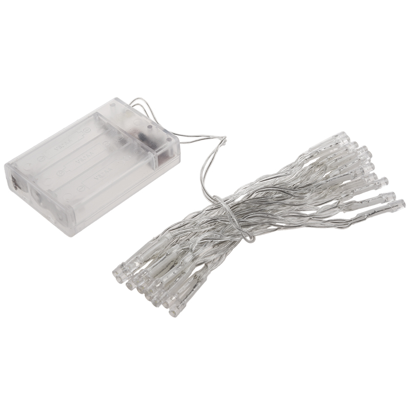White 30 LED String Lights Battery Operated XMAS Christmas Wedding Outdoor Party