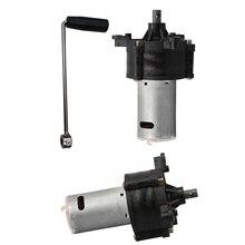 6 V-24 V генератор миниатюрный ручной коленчатый генератор 1500mA аварийная ветрозащитная гидрогенератор Dynamotor мотор для резервного освещения