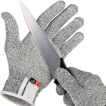 2019 Anti-Cut Gloves HPPE Food Grade Level 5 Breathable Cut Resistant Hand Protection For Cooker Butcher