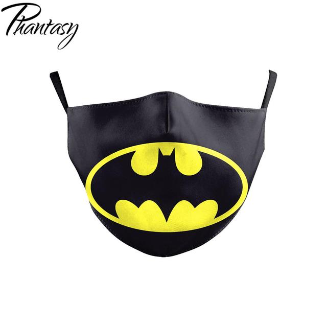 Phantasy Children Adult Dust-Proof Anti-fog Multicolor Face Mask Marvel Superhero Cosplay Protective Mask Mouth Cover Breathable 5