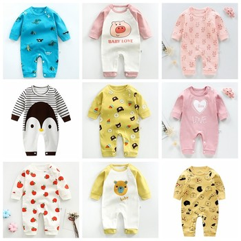 Winter Casual Toddler Costume Baby Clothes Baby Rompers Newborn Jumpsuit Boy Girl Cotton Clothing Onesie