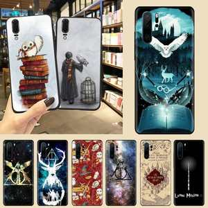 Always Hogwart Harries Potter Comic Phone Case For Huawei P9 P10 P20 P30 Pro Lite smart