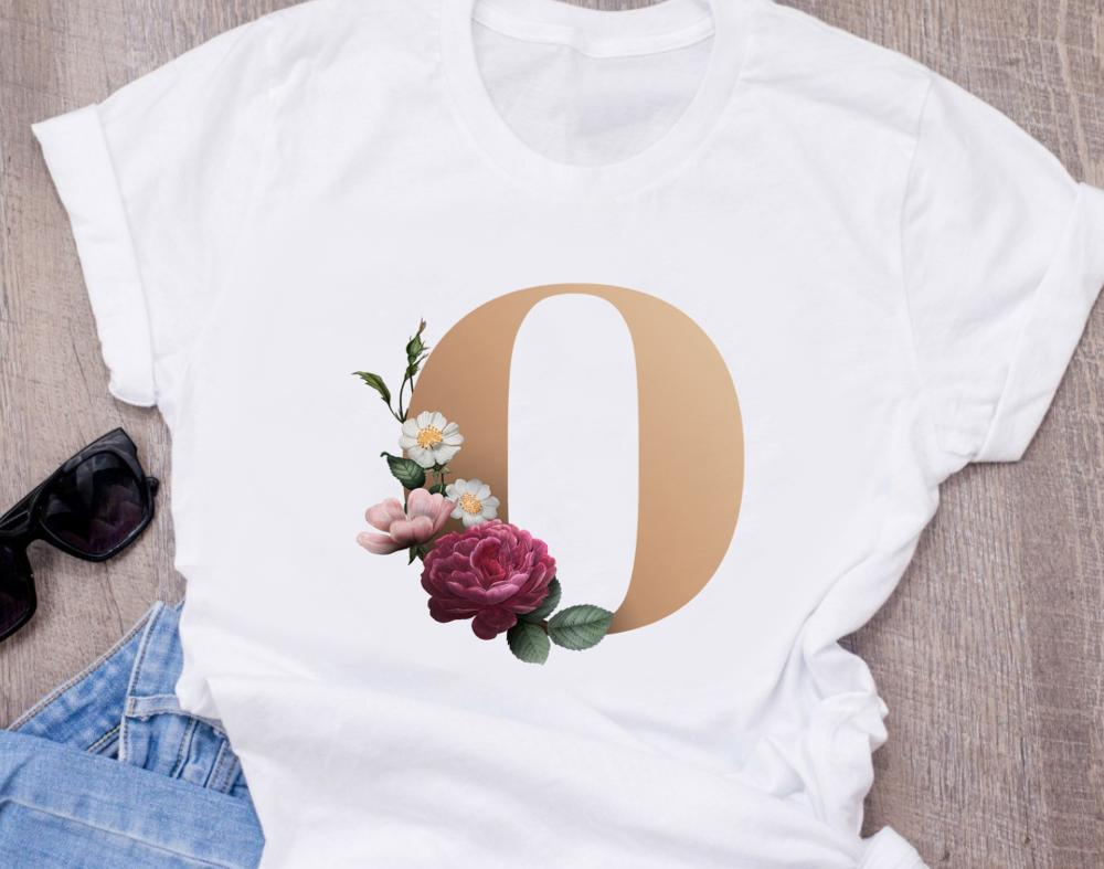 Custom letter combination <font><b>graphic</b></font> <font><b>tees</b></font> <font><b>women</b></font> summer t shirt <font><b>fashion</b></font> <font><b>women's</b></font> printing tshirt aesthetic clothes image