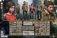 1/6 Scale CCTOYS JOE and ELLI Us Joel Model Toy 12' Full Set Action Man Girl Figure Dolls Toy DIY Collection