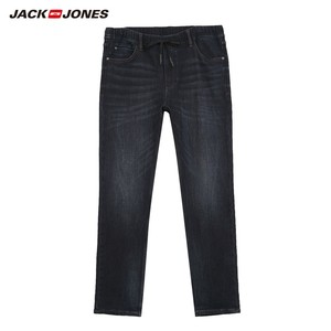 Image 5 - JackJones ชายผ้าฝ้ายยืดกางเกงยีนส์กางเกงยีนส์อุ่นกางเกงบุรุษ streetwear 219332586