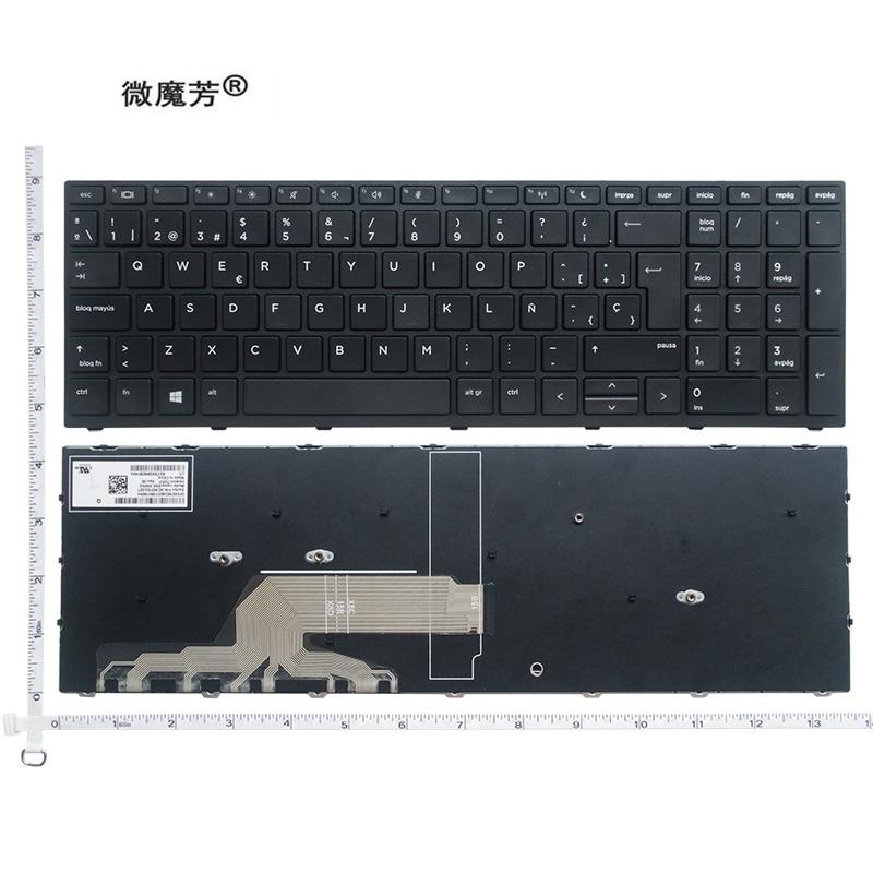 Новая английская клавиатура для ноутбука HP Probook 450 G5 455 G5 470 G5 G5, английская черная клавиатура с подсветкой