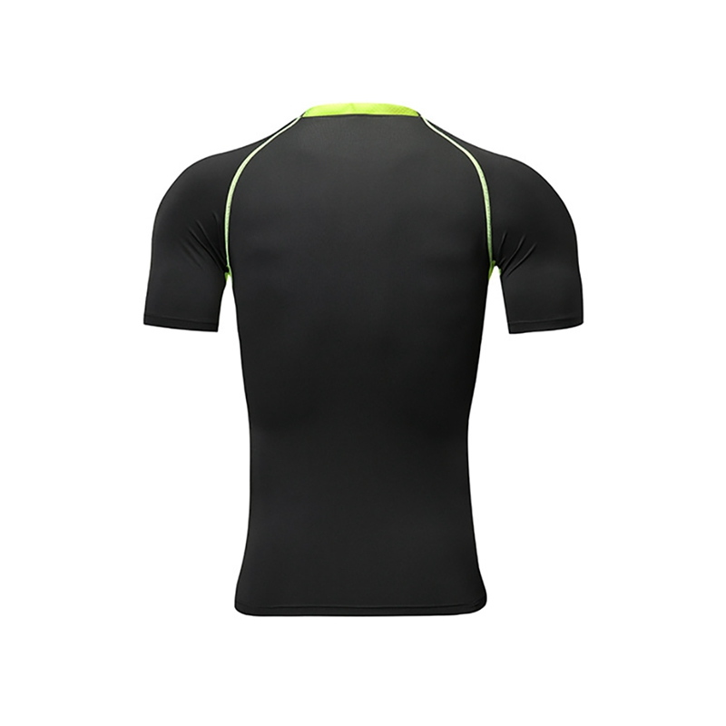 Мужская модная спортивная одежда, эластичная футболка для фитнеса, быстросохнущие топы, короткие штаны, спортивные облегающие укороченные брюки, шорты, комплект