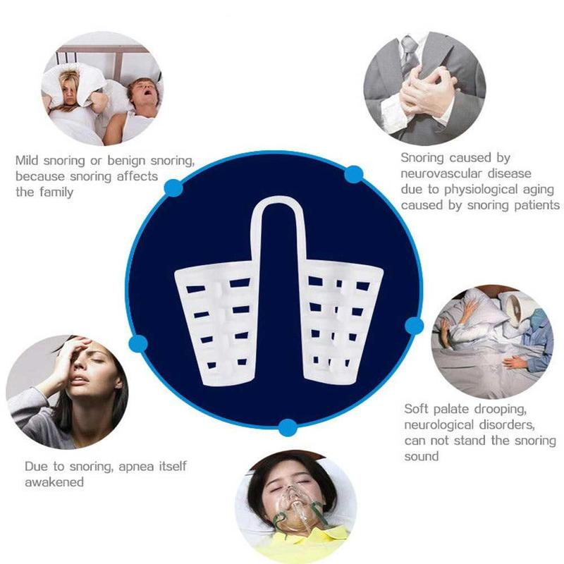 8PCS /box Snoring Solution Anti Snoring Devices Professional Snore Stopper Nose Vents Snore Nasal Dilators For Better Sleep