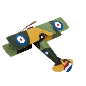 Diecast Airplane 1:72 WWI France SPAD XIII Metal 4.3 inches Biplane Model Office Collectable Decoration