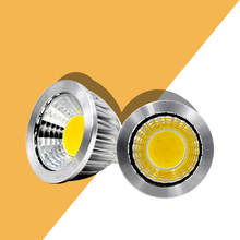 MR16 LED Spotlight Bulb 3W 5W 12V COB Light Lamp Beam angle 90 Warm white Exhibition home decor bulb цена