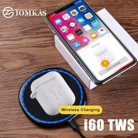 i60 TWS Replica 1:1 Wireless Headphone Original Earphone Sport Earbuds 5.0 Bluetooth Charging Box PK i12 i30 i80 i100 tws Pop UP