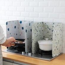 1 шт. газовая плита теплоизоляция алюминиевая фольга маслостойкая плита перегородка кухонная плита фольга изоляционный лист для приготовления пищи